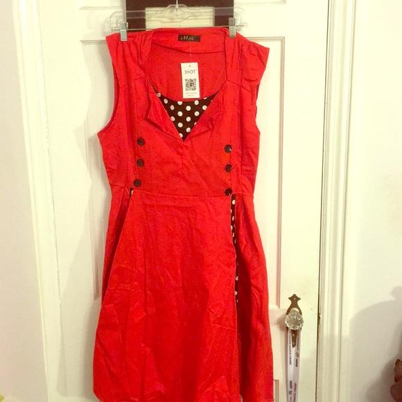 iHot Dresses & Skirts - Beautiful Red Dress